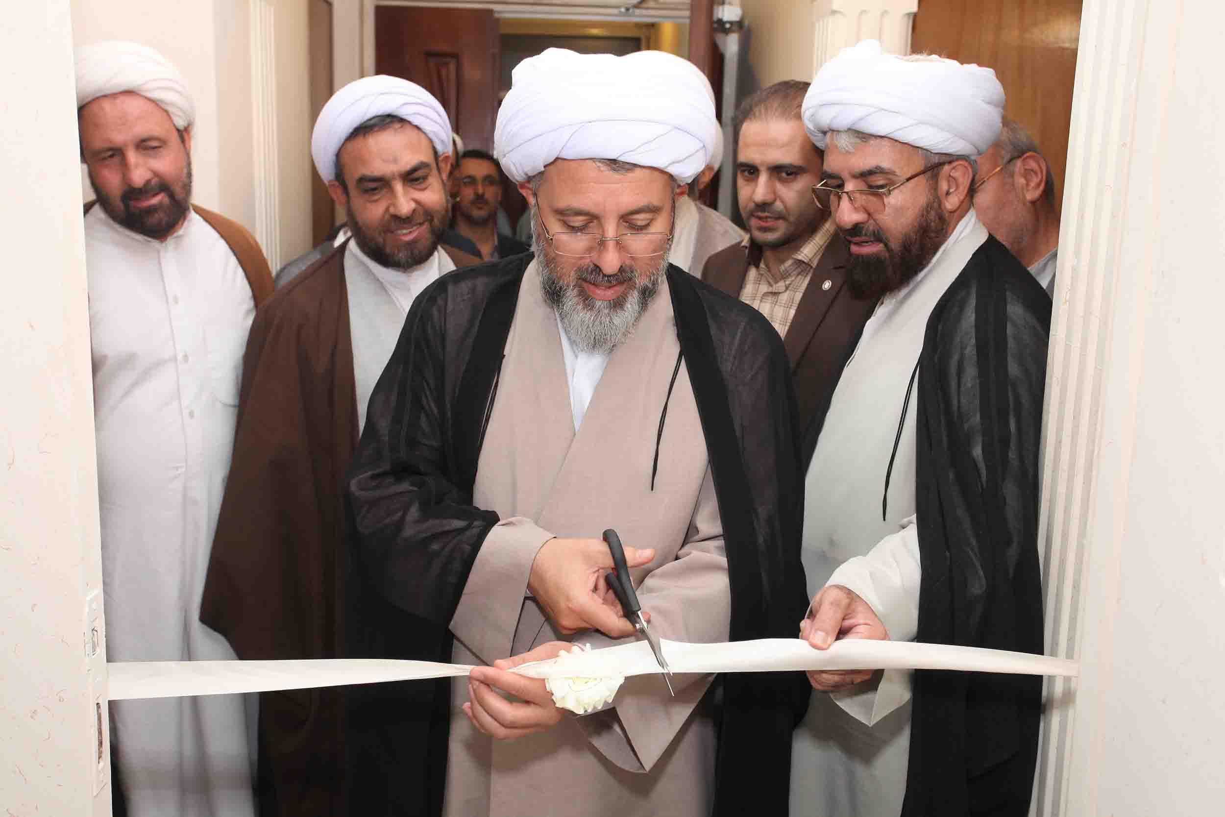 افتتاح دفتر نهاد رهبری استان قزوین