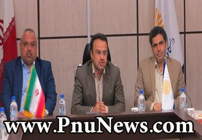 انتصاب محسن دیانت به عنوان رئیس دانشگاه پیام نور هرمزگان