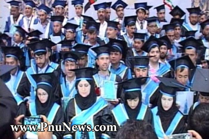 جشن فارغ التحصیلی دانشجویان پیام نور افغانستان (9)