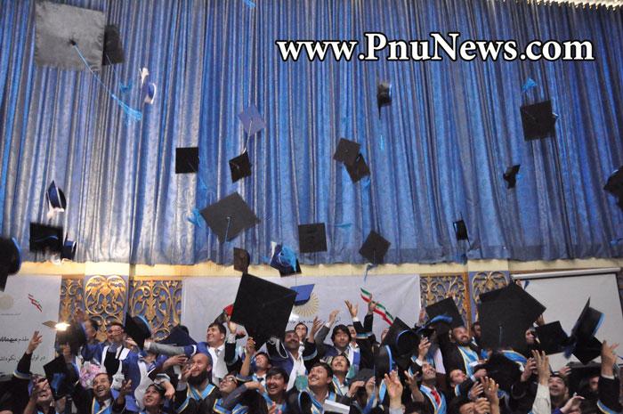 جشن فارغ التحصیلی دانشجویان پیام نور افغانستان (1)