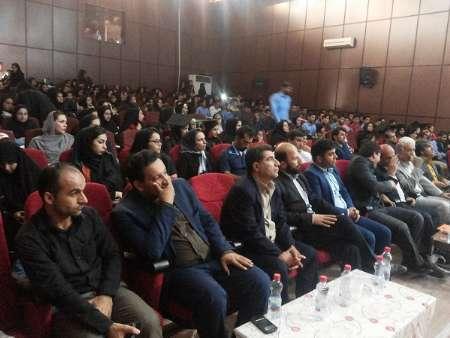 جشن فارغ التحصیلی دانشجویان پیام نور دهدشت