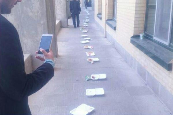 اعتراض دانشجویان به کیفیت غذا