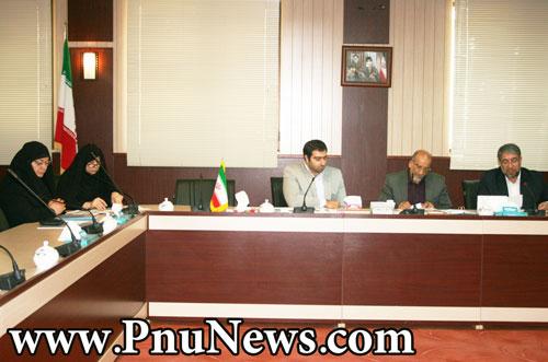 جلسه شورای راهبردی ورزش پیام نور