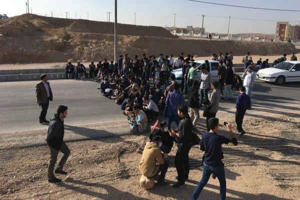 تجمع دانشجویان بجنورد