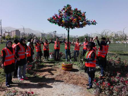 درخت بازیافتی دانشجویان پیام نور اراک