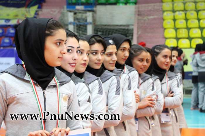 مسابقات ورزشی دانشجویان دختر پیام نور کشور - ساری (1)