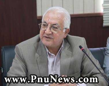 علی اصغر رستمی ابوسعیدی رییس دانشگاه پیام نور