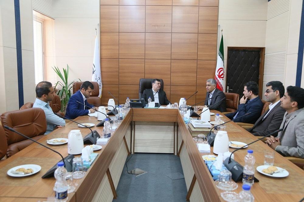 دیدار استاندار هرمزگان با محدثی رئیس دانشگاه پیام نور منطقه هشت