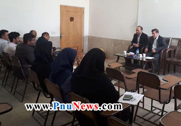 انتصاب عباسعلی آروین-پیام-نور-دولت-آباد