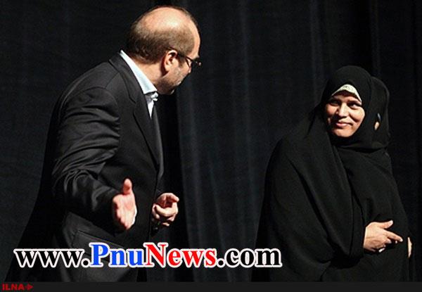 همسر قالیباف زهرا مشیر الاستخاره