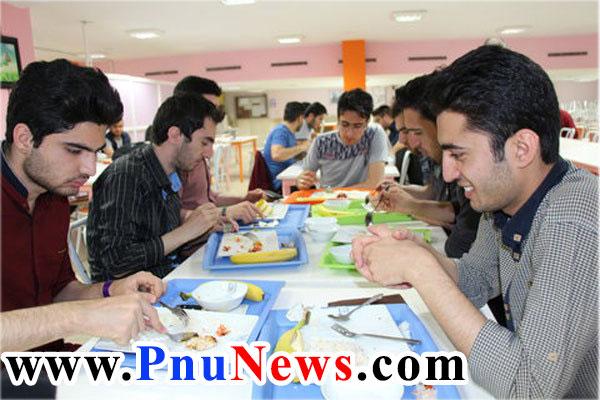 قیمت غذای دانشجویی دانشگاه آزاد