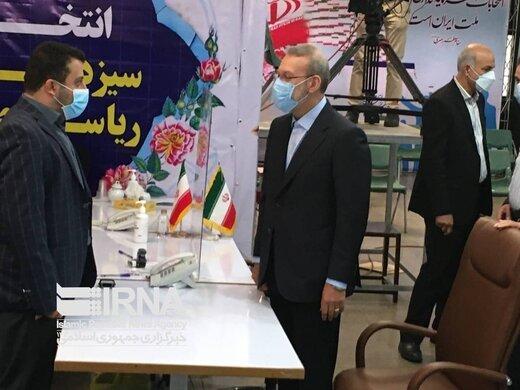 علی لاریجانی انتخابات ۱۴۰۰