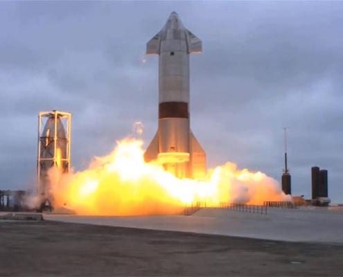 موشک فضاپیمای استارشیپ